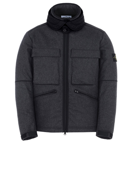 STONE ISLAND Mid-length jacket 44032 PANNO-R 4L STRETCH
