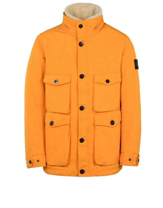 STONE ISLAND Mid-length jacket 41549 DAVID-TC WITH PRIMALOFT® INSULATION TECHNOLOGY