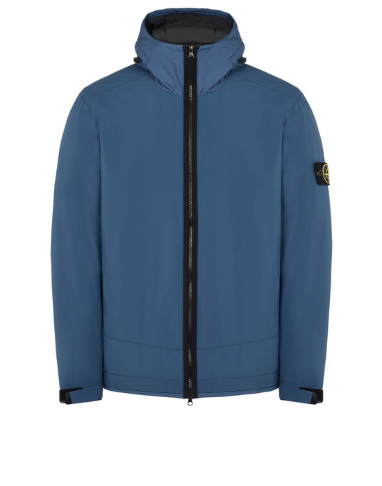 STONE ISLAND Mid-length jacket 40927 SOFT SHELL-R WITH PRIMALOFT® INSULATION TECHNOLOGY