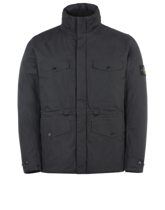STONE ISLAND Mid-length jacket 42925 WATER REPELLENT SUPIMA COTTON WITH PRIMALOFT® INSULATION TECHNOLOGY