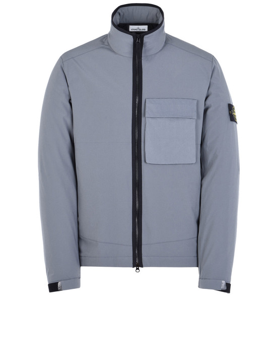 STONE ISLAND Mid-length jacket 40627 SOFT SHELL-R WITH PRIMALOFT® INSULATION TECHNOLOGY