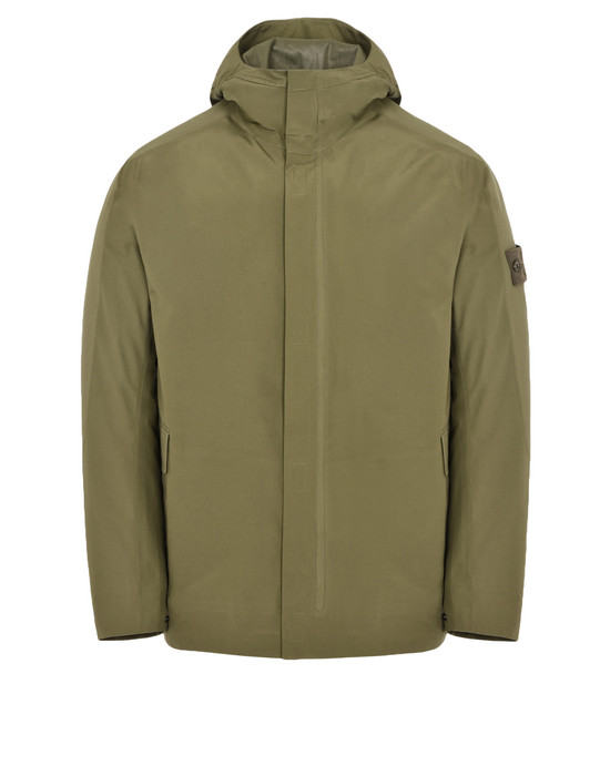 Mid-length jacket 42429 GHOST PIECE_TANK SHIELD FEATURING MULTI LAYER FUSION TECHNOLOGY STONE ISLAND - 0