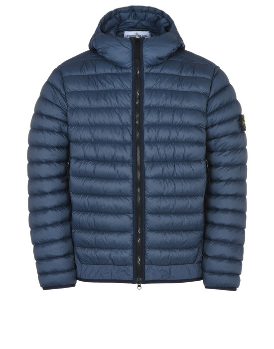 STONE ISLAND Mid-length jacket 40124 GARMENT DYED MICRO YARN DOWN