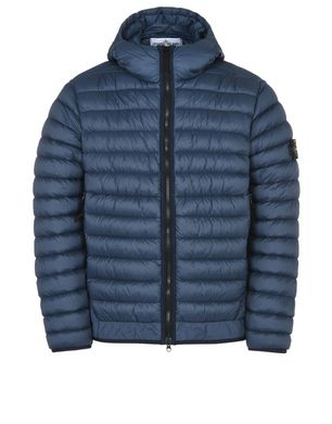 latest design classic style attractive price 40124 GARMENT DYED MICRO YARN DOWN Mid Length Jacket Stone Island ...