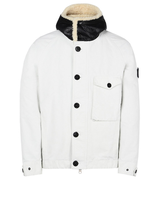 Mid-length jacket 42049 DAVID-TC WITH DETACHABLE LINING STONE ISLAND - 0
