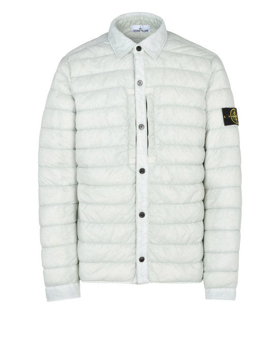 STONE ISLAND LIGHTWEIGHT JACKET Q0124 GARMENT DYED MICRO YARN DOWN