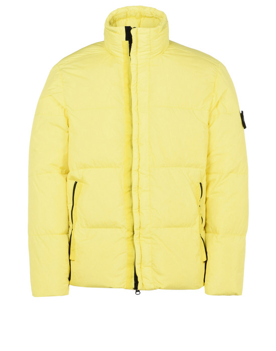 STONE ISLAND Mid-length jacket 42223 GARMENT DYED CRINKLE REPS NY DOWN