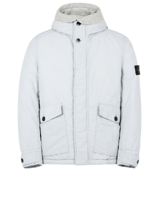 STONE ISLAND Mid-length jacket 42826 MICRO REPS WITH PRIMALOFT® INSULATION TECHNOLOGY