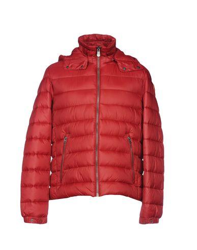 Купить Мужскую куртку SAVE THE DUCK кирпично-красного цвета