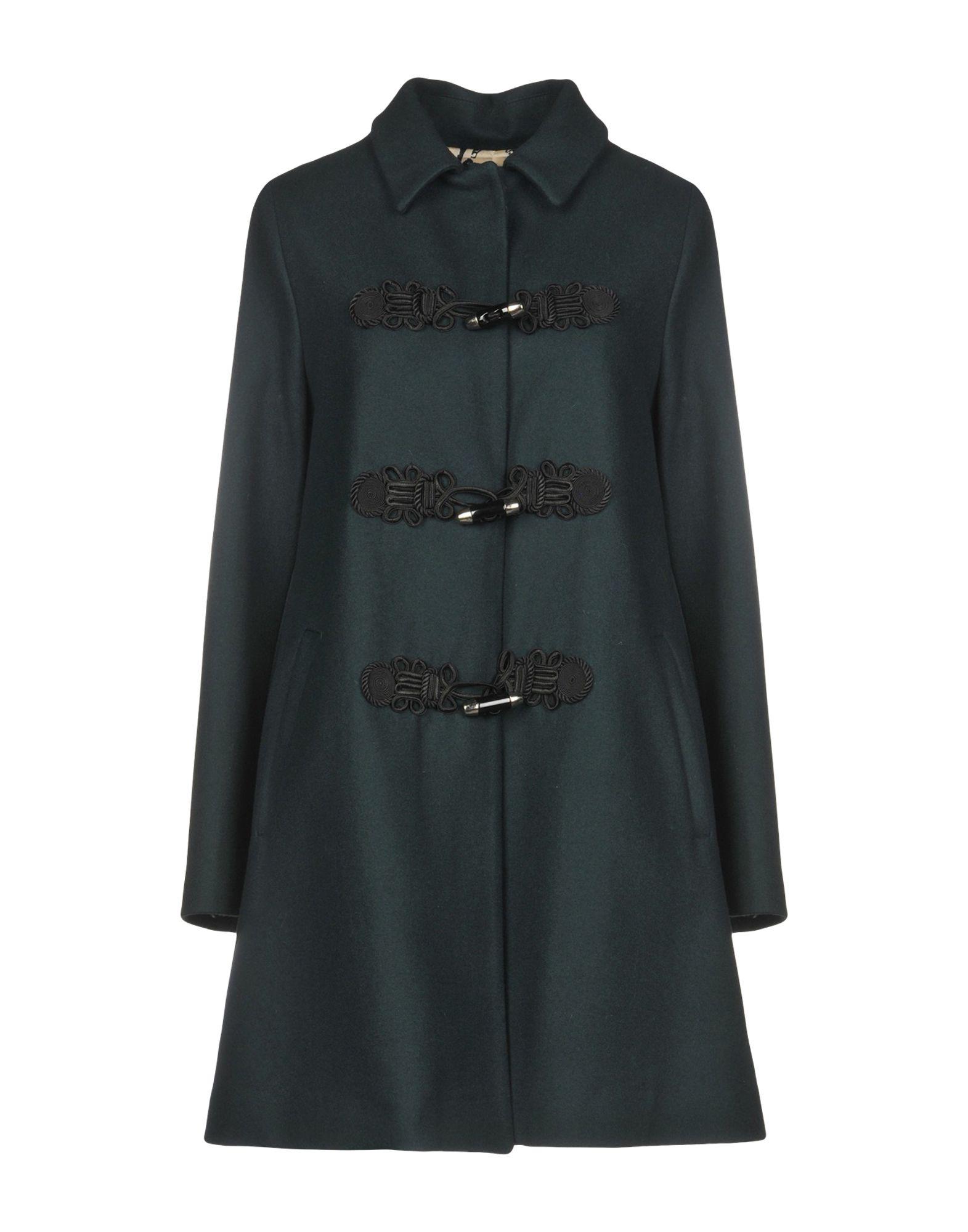 OFF Coat in Dark Green