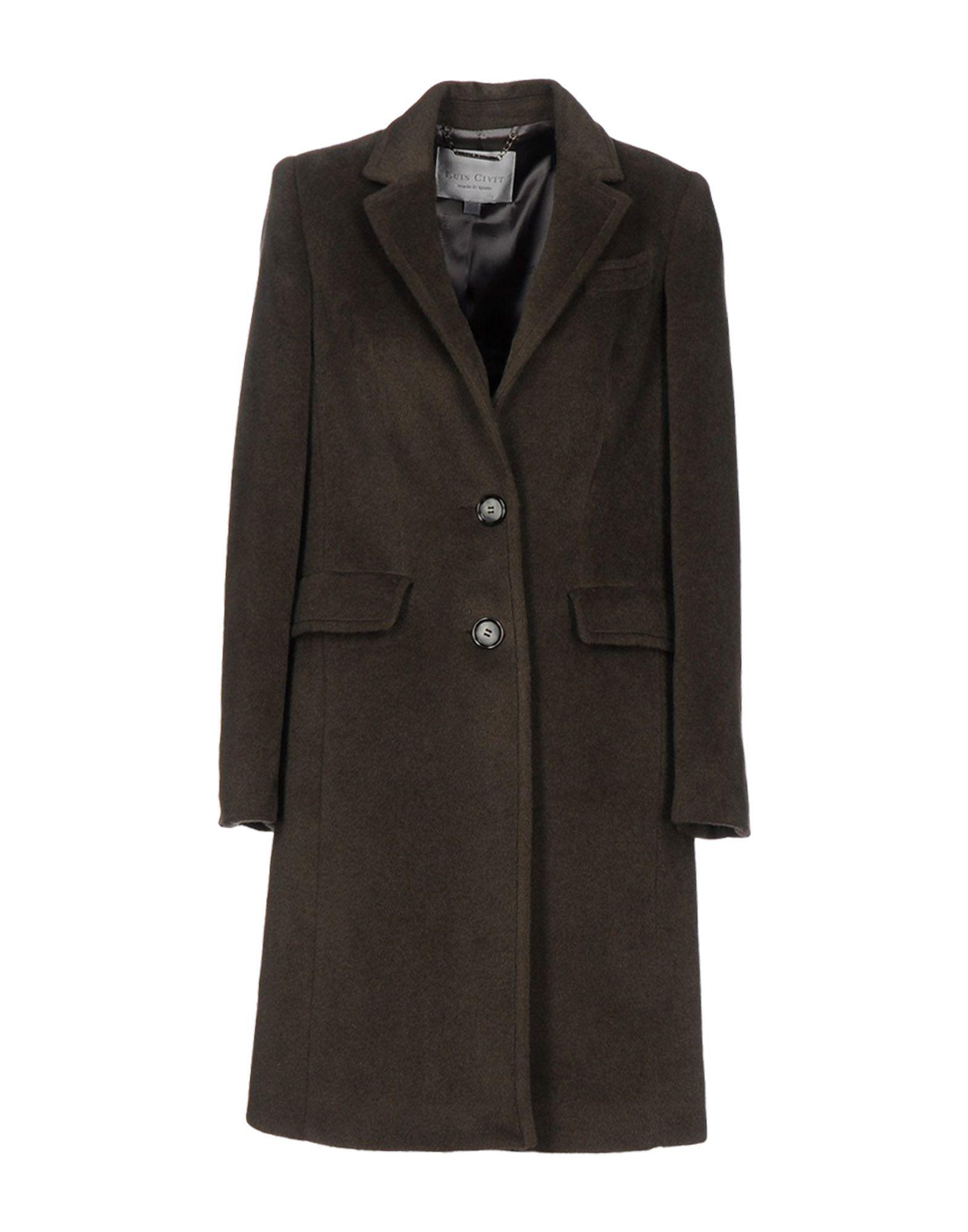 LUIS CIVIT Пальто цена 2017