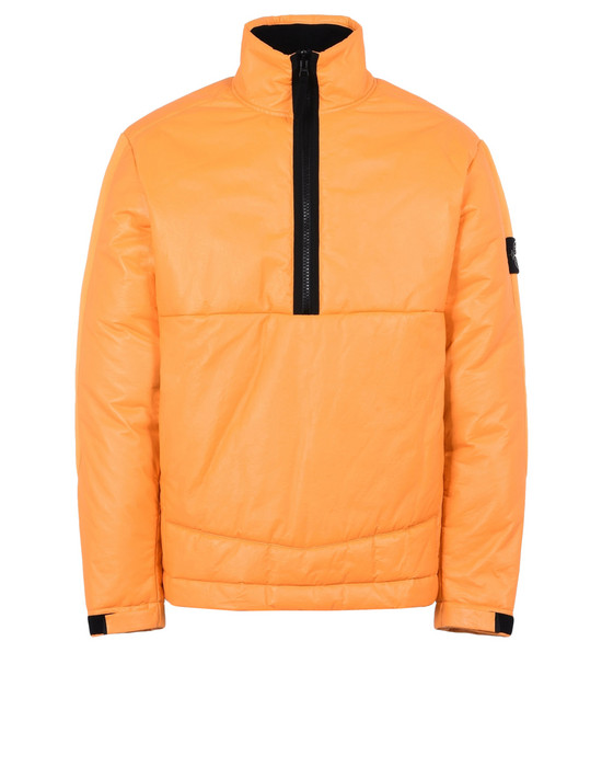 STONE ISLAND LEATHER ANORAK 00292 FEATHERWEIGHT LEATHER WITH PRIMALOFT® INSULATION TECHNOLOGY