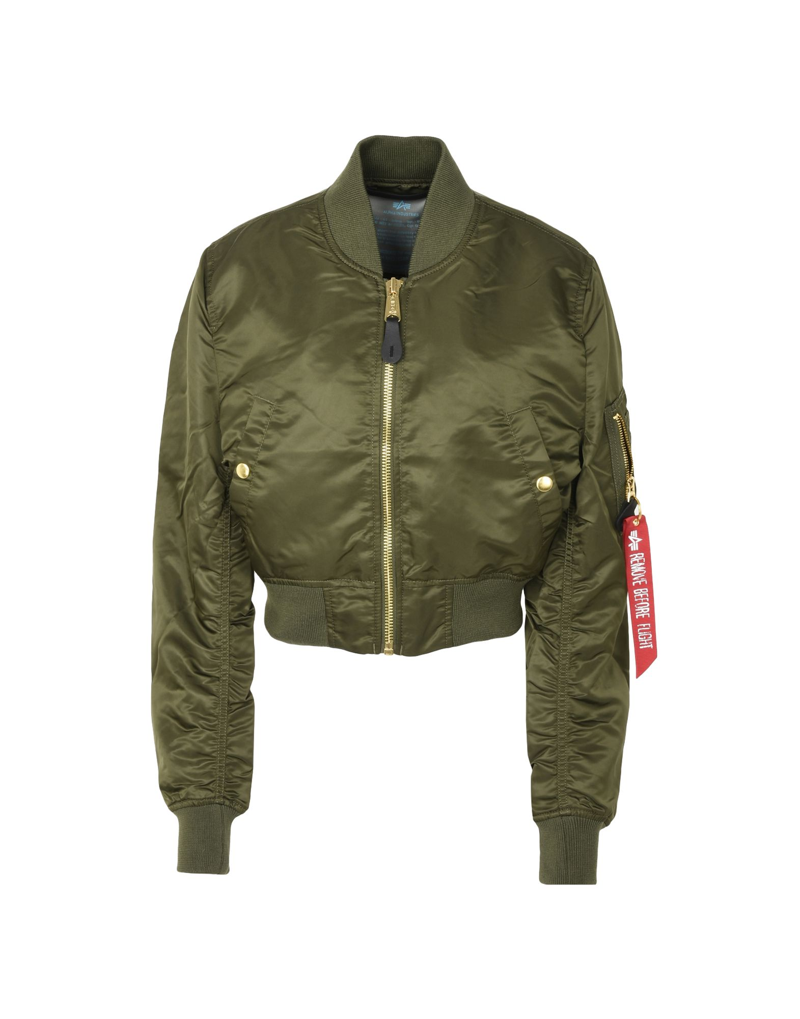 ALPHA INDUSTRIES INC. Damen Jacke Farbe Militärgrün Größe 5