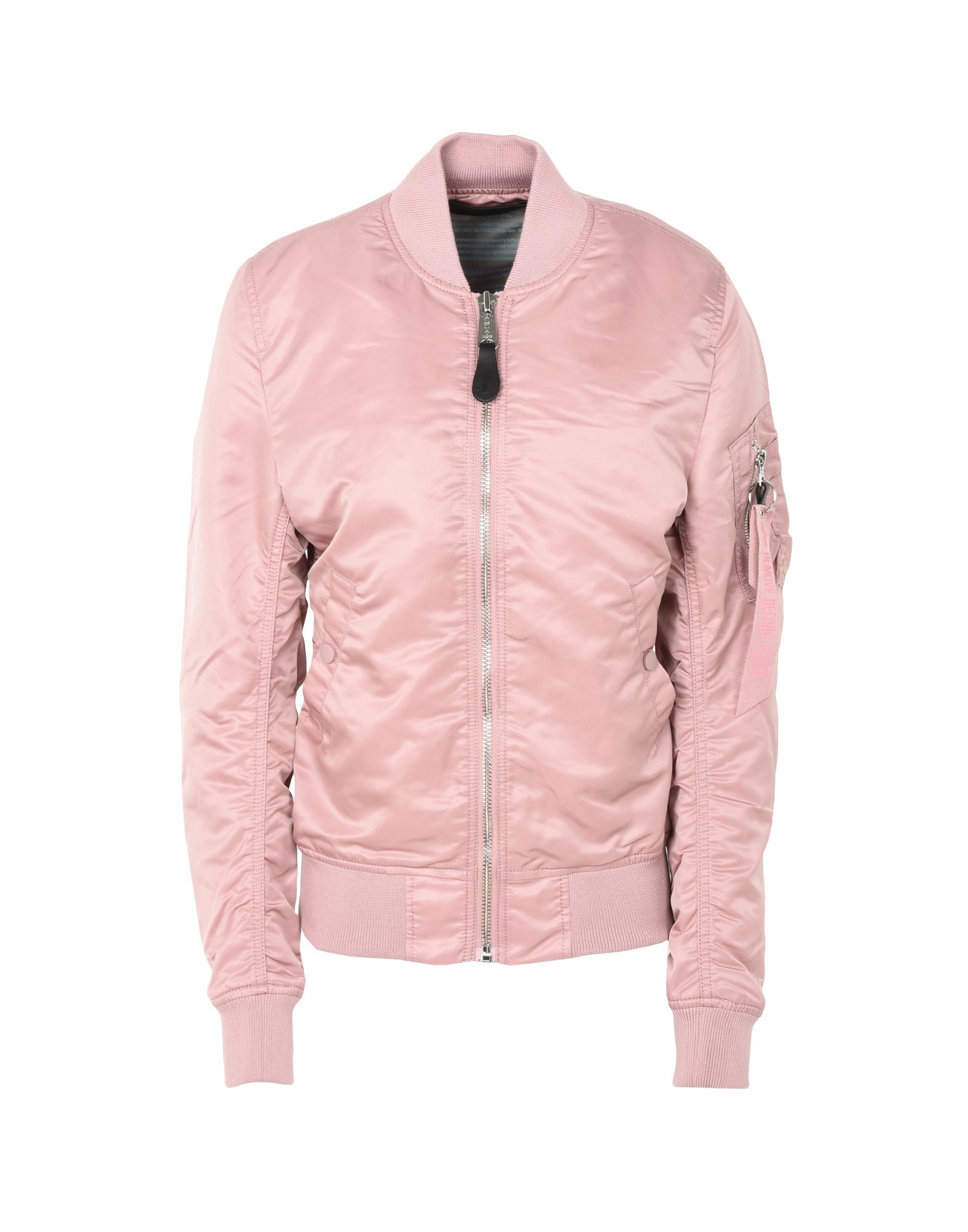 ALPHA INDUSTRIES INC. Damen Jacke Farbe Rosa Größe 3