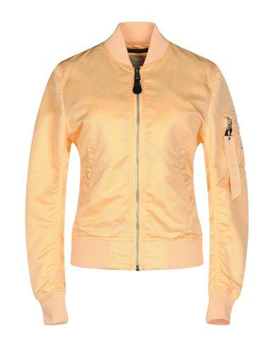 Фото - Женскую куртку ALPHA INDUSTRIES INC. цвет абрикосовый