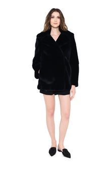 ALBERTA FERRETTI LEATHER & FUR Woman f