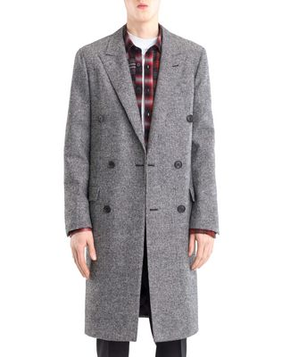 LANVIN Outerwear U DOUBLE-BREASTED COAT F