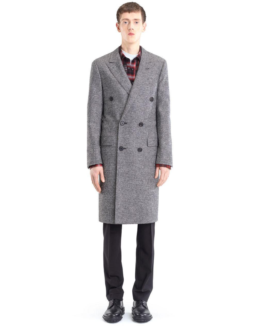DOUBLE-BREASTED COAT  - Lanvin