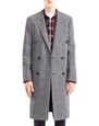 LANVIN Outerwear Man DOUBLE-BREASTED COAT f