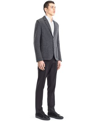 LANVIN RIB KNIT DECONSTRUCTED JACKET Jacket U e