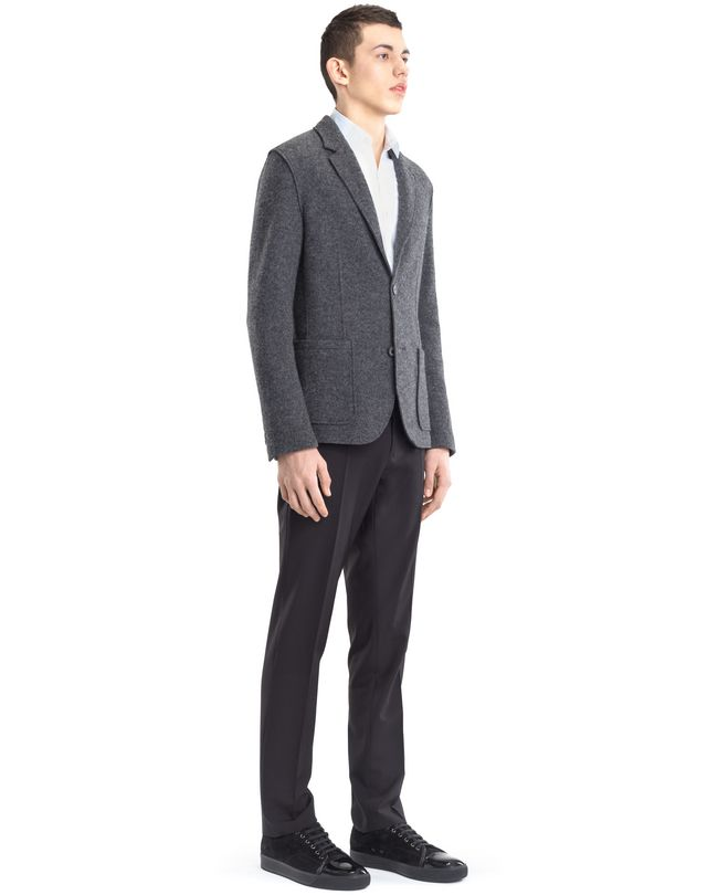 LANVIN RIB KNIT DECONSTRUCTED JACKET Jacket U e