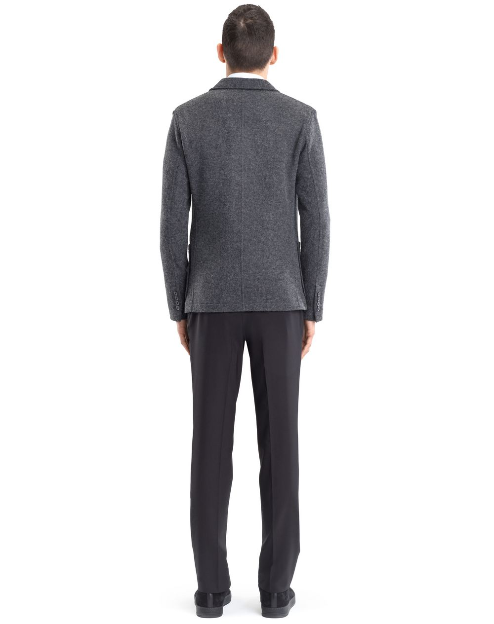 RIB KNIT DECONSTRUCTED JACKET - Lanvin