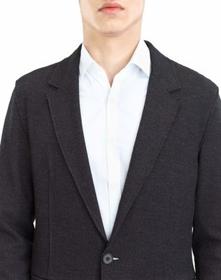 LANVIN JERSEY DECONSTRUCTED JACKET Jacket U a