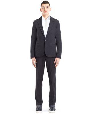 LANVIN JERSEY DECONSTRUCTED JACKET Jacket U r