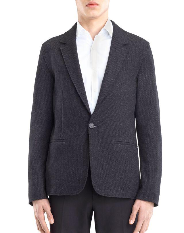 LANVIN JERSEY DECONSTRUCTED JACKET Jacket U f