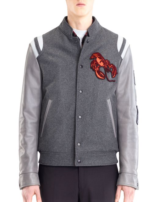 lanvin baseball jacket men