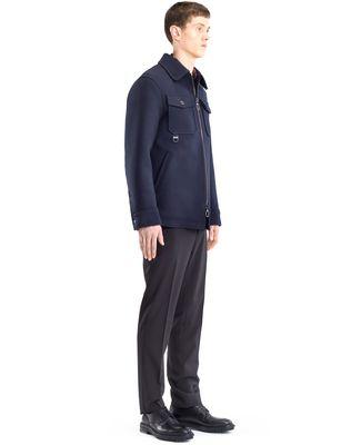 LANVIN COMPACT FELT SAFARI JACKET Outerwear U e