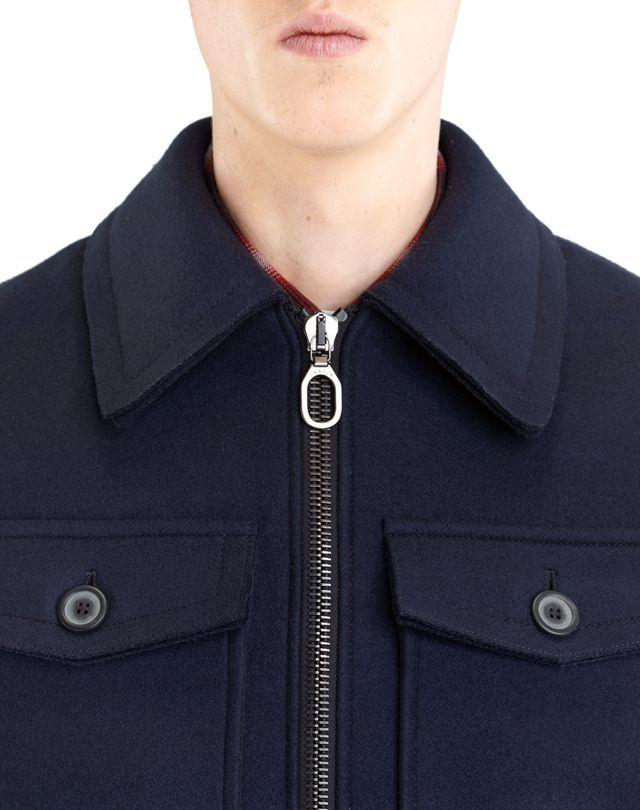 LANVIN COMPACT FELT SAFARI JACKET Outerwear U a