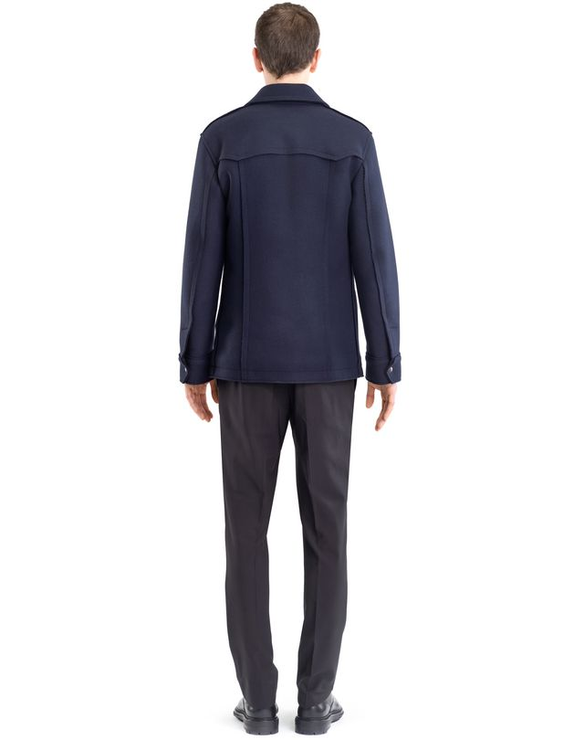 LANVIN COMPACT FELT SAFARI JACKET Outerwear U d