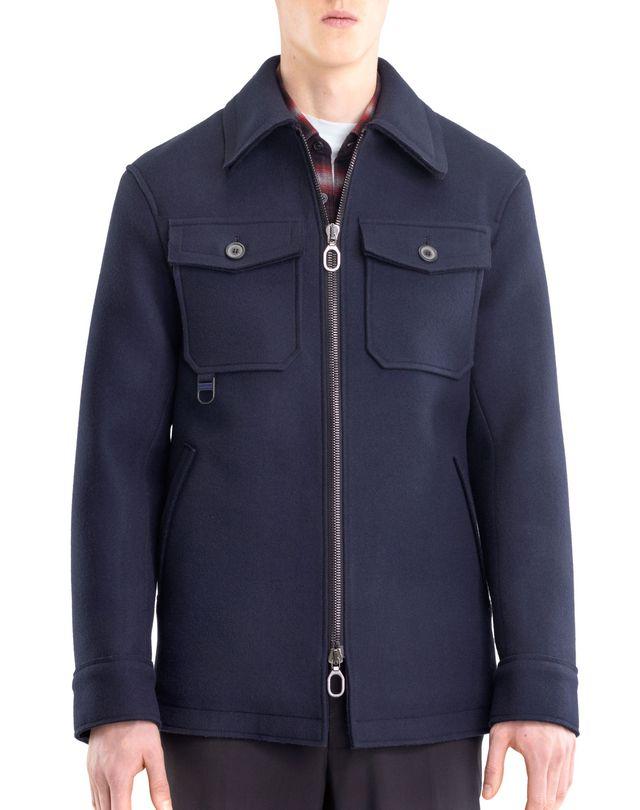 LANVIN COMPACT FELT SAFARI JACKET Outerwear U f