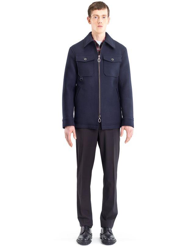 LANVIN COMPACT FELT SAFARI JACKET Outerwear U r