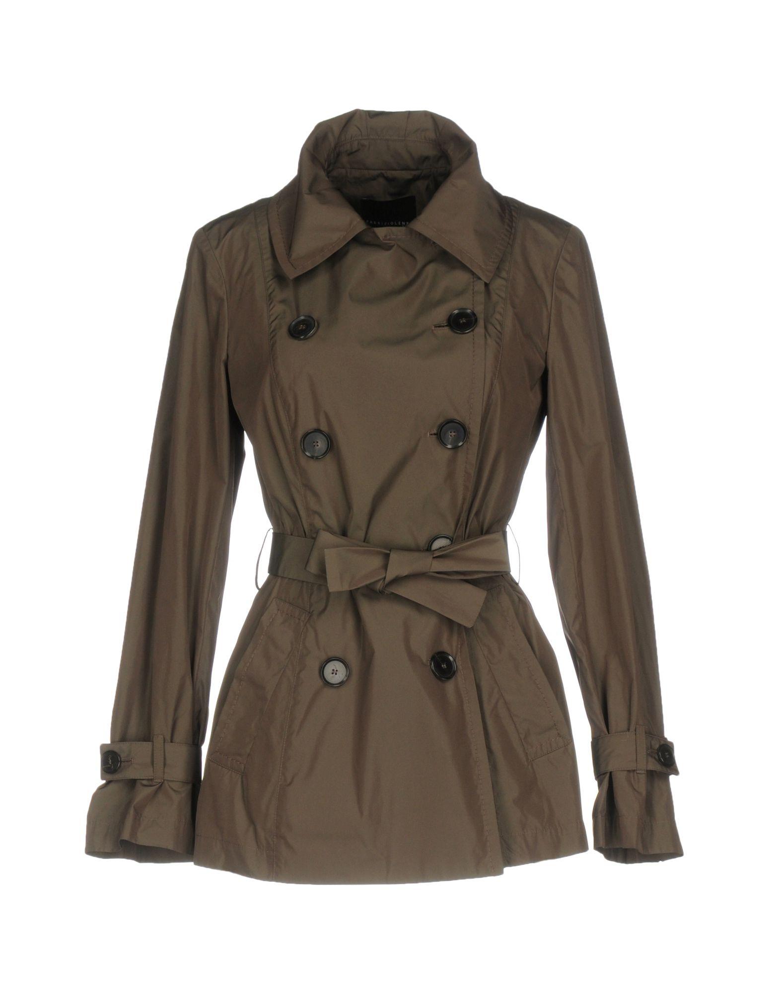 цена FABRIZIO LENZI Легкое пальто онлайн в 2017 году