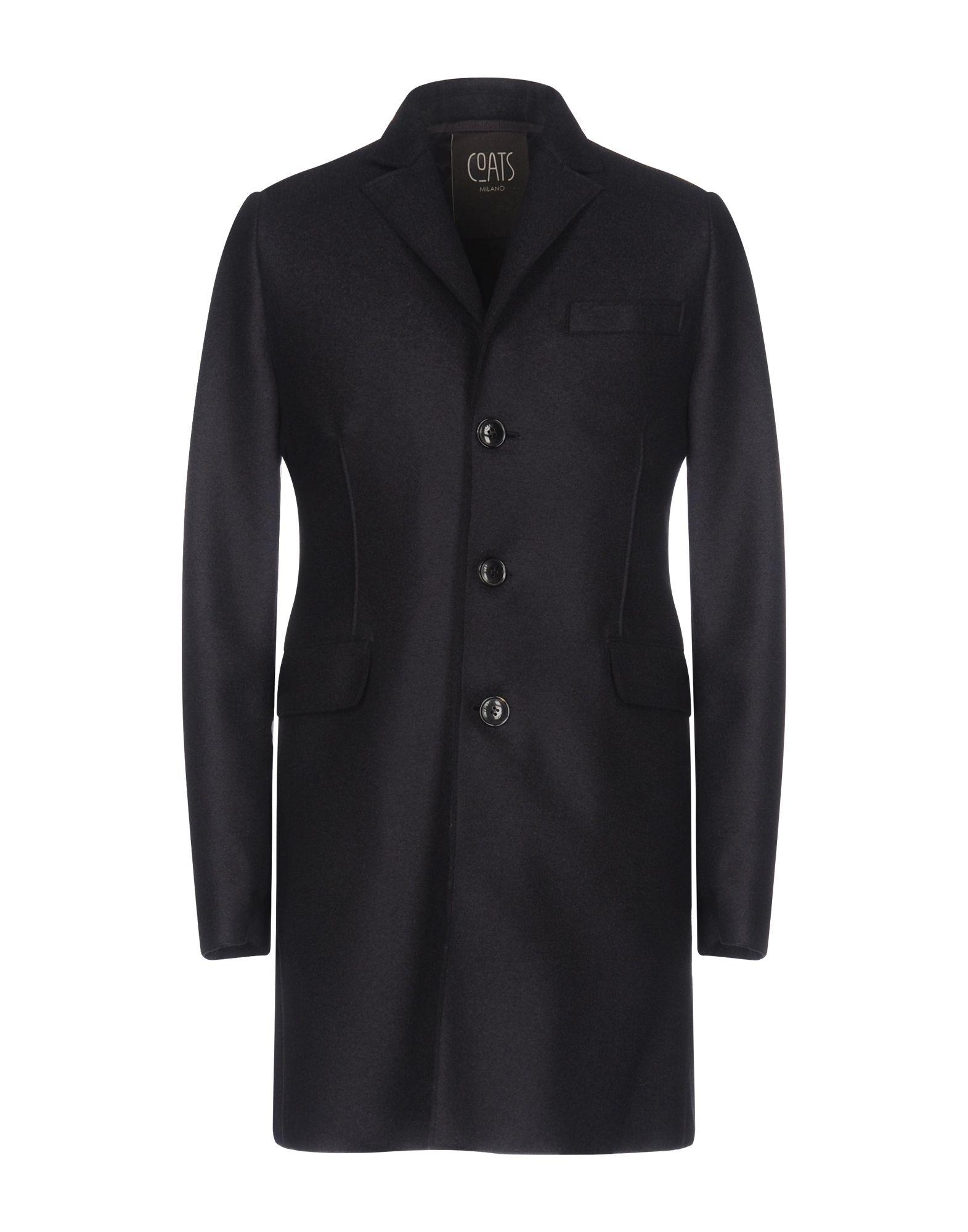 《送料無料》COATS Milano メンズ コート ダークブルー 50 バージンウール 100%