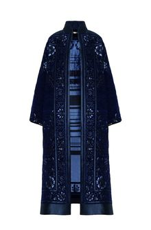 ALBERTA FERRETTI DETAILS KIMONO-COAT Long coat Woman d