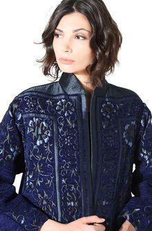 ALBERTA FERRETTI DETAILS KIMONO-COAT Long coat Woman e