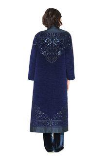 ALBERTA FERRETTI DETAILS KIMONO-COAT Long coat Woman r