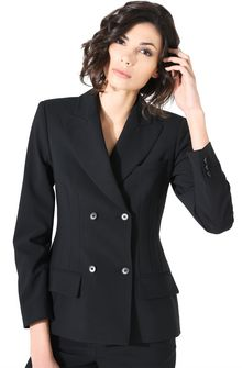 ALBERTA FERRETTI SPEAR BLAZER Double-breasted jacket Woman e