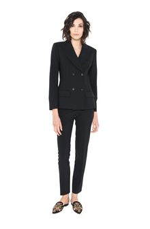ALBERTA FERRETTI SPEAR BLAZER Double-breasted jacket Woman f