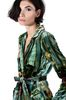 ALBERTA FERRETTI Pyjama jacket with maxi flower Blazer Woman a