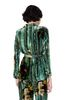 ALBERTA FERRETTI Pyjama jacket with maxi flower Blazer Woman e