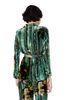 ALBERTA FERRETTI Pyjama jacket with maxi flower Blazer D e