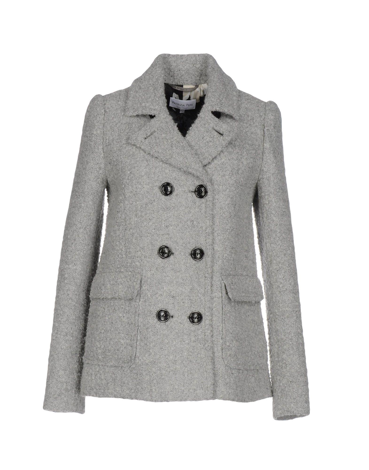 5503d25b2d Patrizia Pepe Coats In Grey
