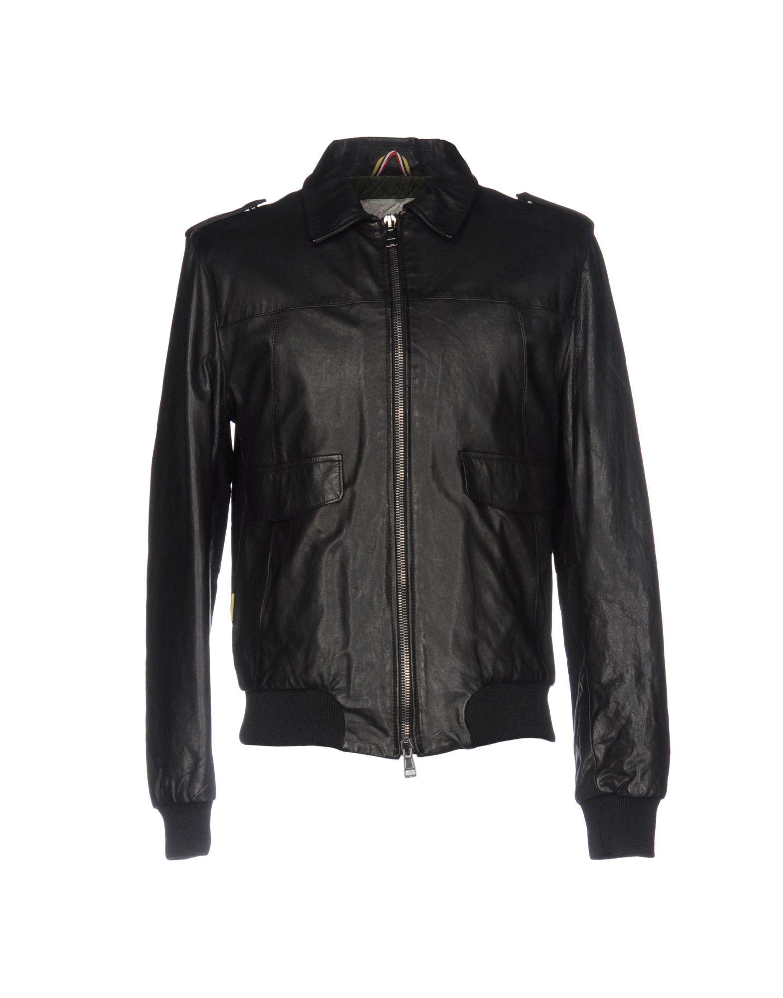 L(!)W BRAND Herren Jacke Farbe Schwarz Größe 8