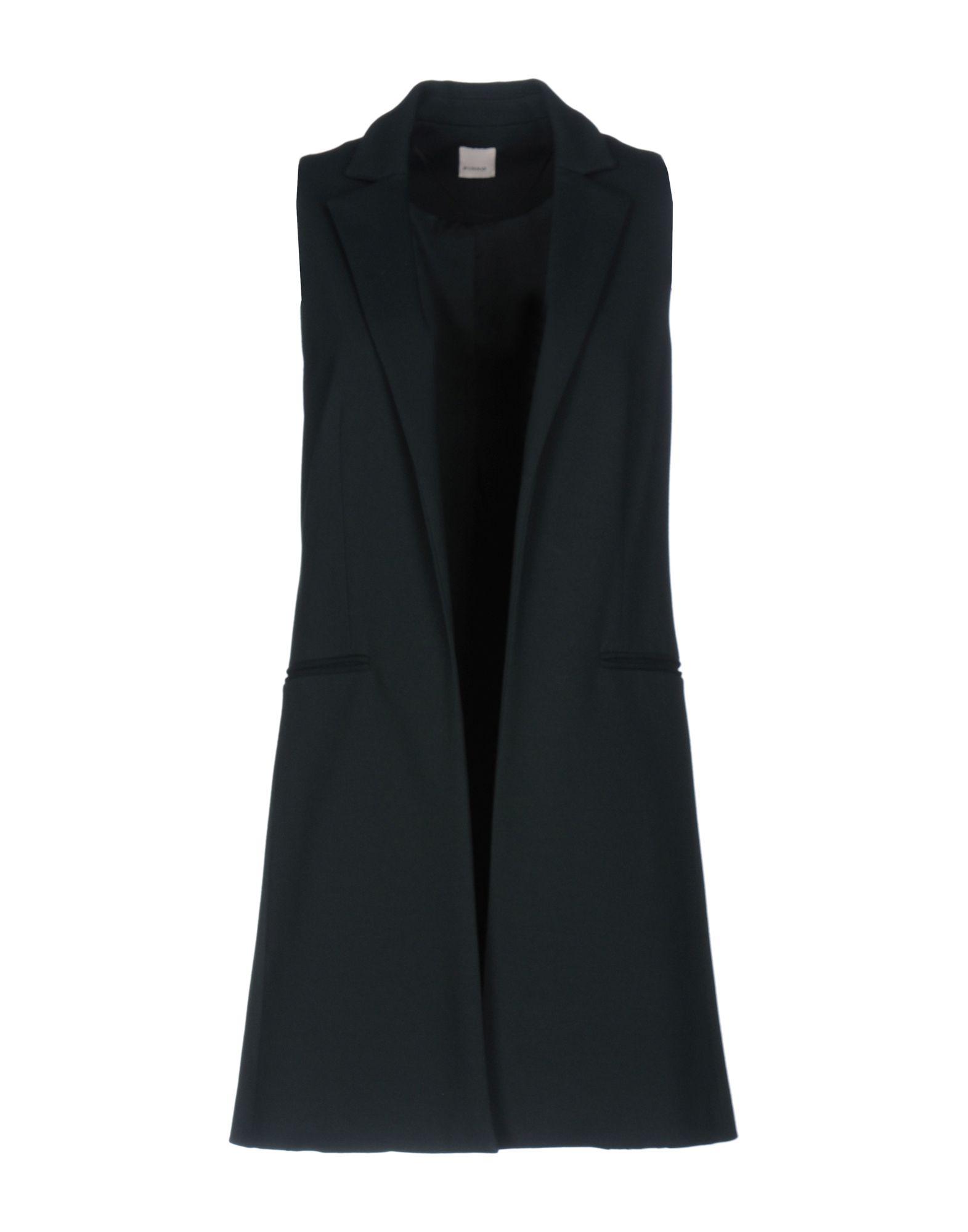 PINKO Damen Lange Jacke Farbe Dunkelgrün Größe 2