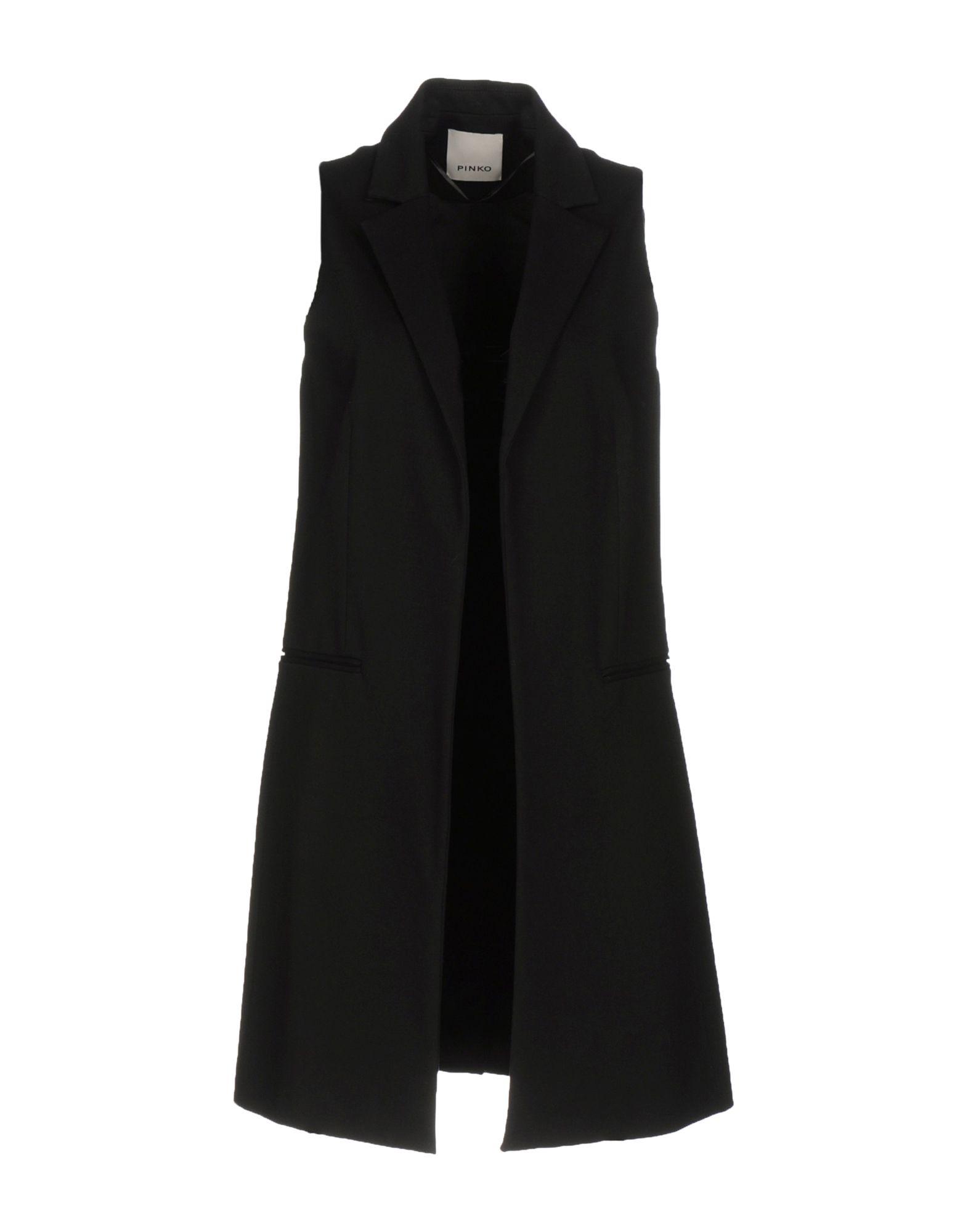 PINKO Damen Lange Jacke Farbe Schwarz Größe 4