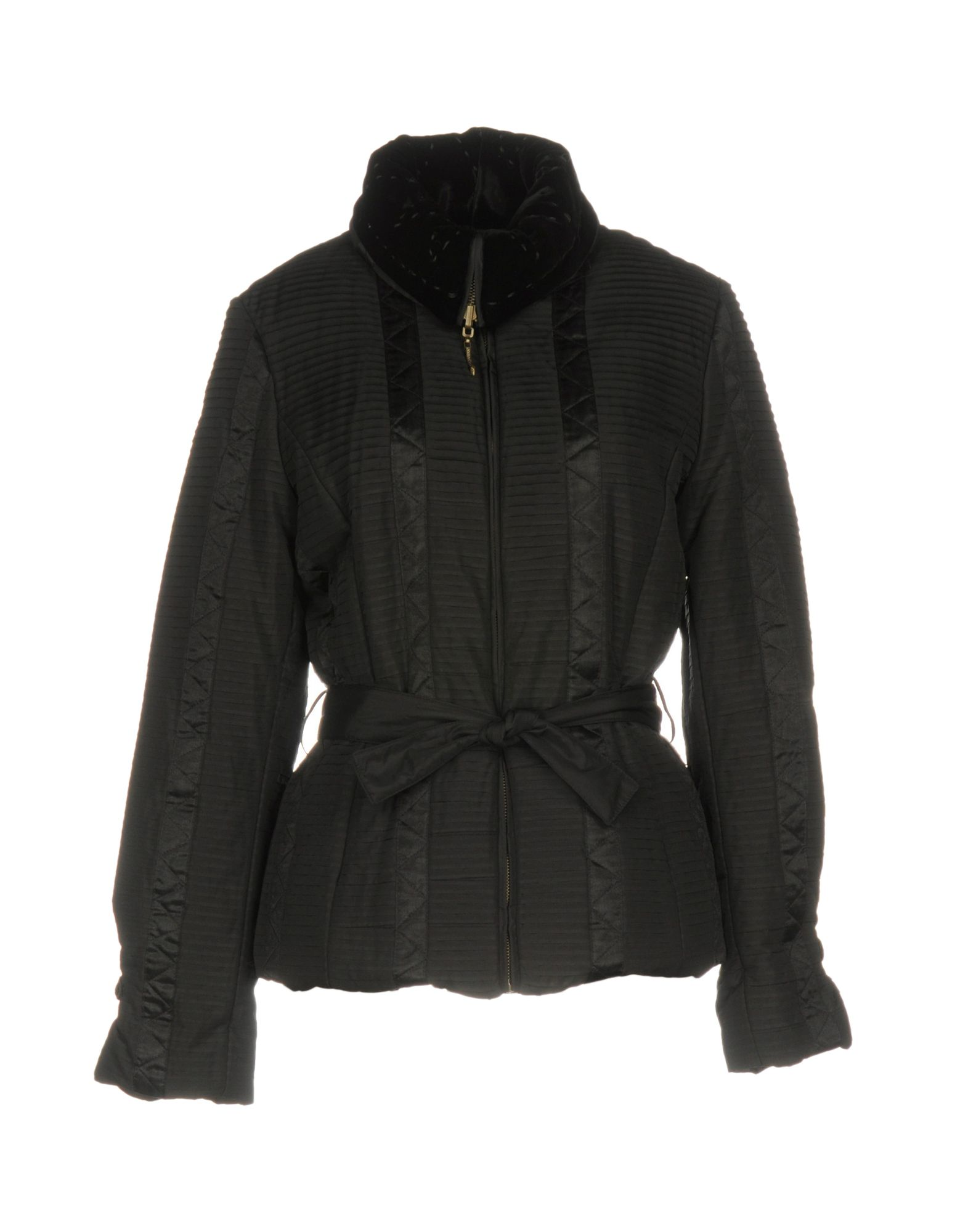 CLASS ROBERTO CAVALLI Damen Jacke Farbe Schwarz Größe 5